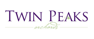 twin peaks orchards logo