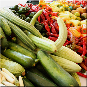 local-cucumbers-peppers-eggplant-jimmy nardellos-squash-summer-produce
