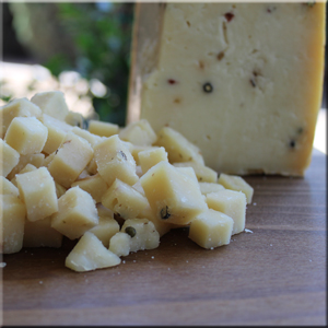 Quatro Pepe Goat Cheese - Nicolau Farms