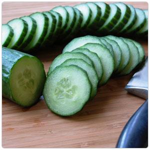 Cucumber, English