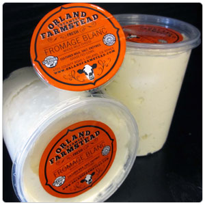 Fromage Blanc Cheese - Orland Farmstead Creamery